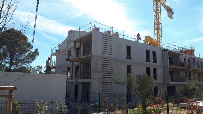 Villa Réale Puyricard travaux avril2019 2