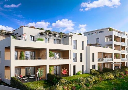 Vente de maisons et appartements Les Jardins des Accates